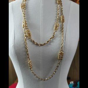 Vintage 2 JBK Kross & Camrose Costume Necklaces